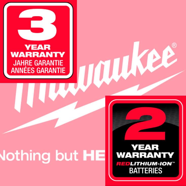 Ampliación garantía 3 años Herramientas Milwaukee Heavy Duty
