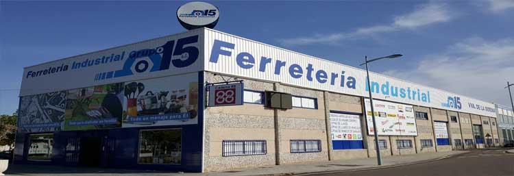 Tienda grupo 15 en Villanueva de la Serena VVA